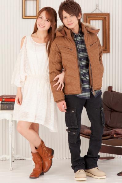 温式PUレザー中綿ジャケット×起毛チェックシャツ×美シルエットブラックカーゴパンツ(3点セット)