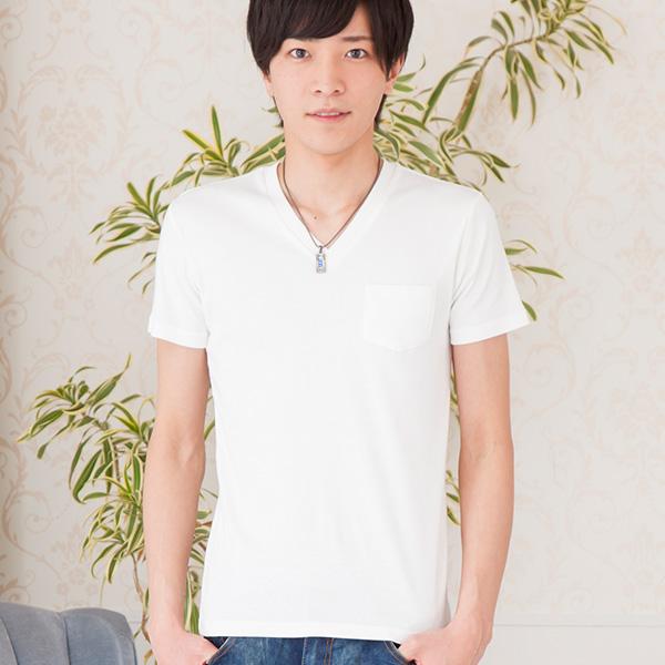 クールVネックTシャツ(ホワイト)