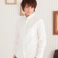 オックス切替シャツ(ホワイト)