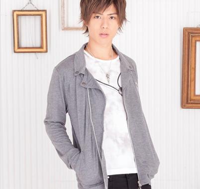 ライダースジャケット×Tシャツ(2点セット)(グレー)