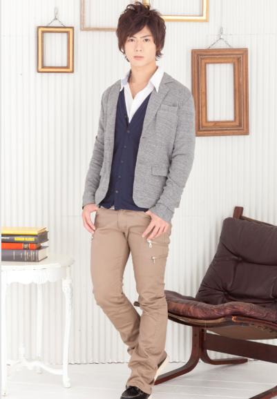 テーラードジャケット×シャツ+カーディガンアンサンブル×3ZIPスキニーブーツカットパンツ(3点セット)