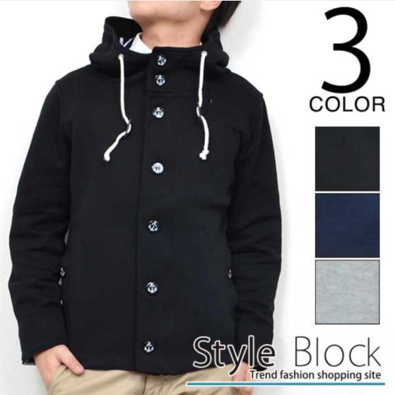 Styleblockmenマウンテンパーカー