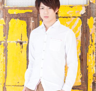 長袖 シャツ(ホワイト)