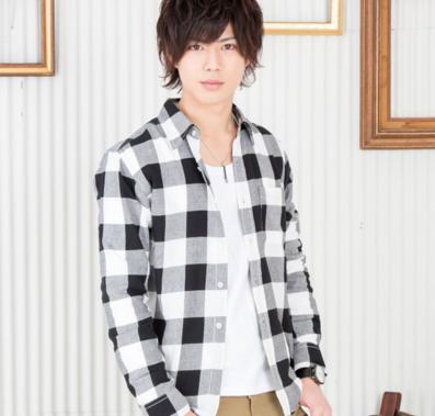 チェックシャツ(ブラック×ホワイト)