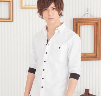 オックスリブ付七分袖シャツ(ホワイト)★