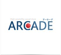 ARCADEロゴ