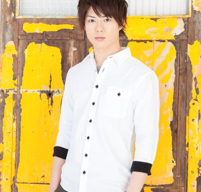 オックスリブ付七分袖シャツ(ホワイト)