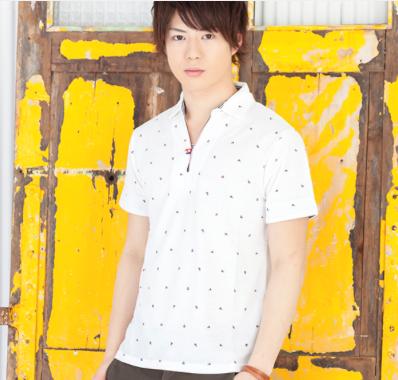 ポロシャツ1(ホワイト)