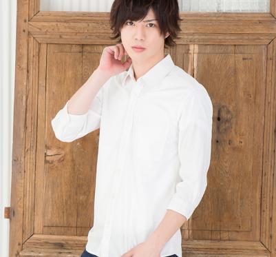 7分袖ブロードシャツ(ホワイト)