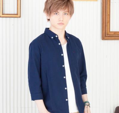 オックス七分袖シャツ