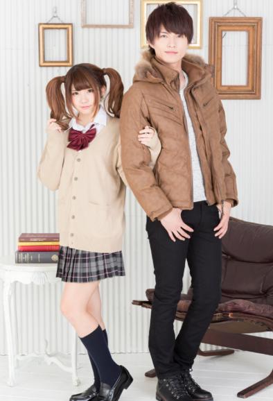 ファージャケット×長袖T×チノパン(3点セット)