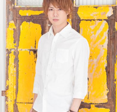ジャガード七分袖シャツ(ホワイト)