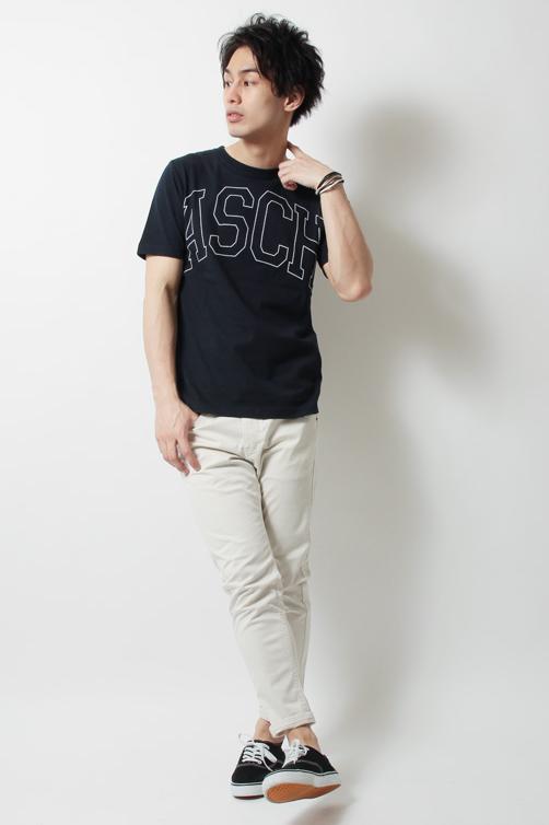 Revo. レボ USAコットンヘビーウェイトプリントTシャツ