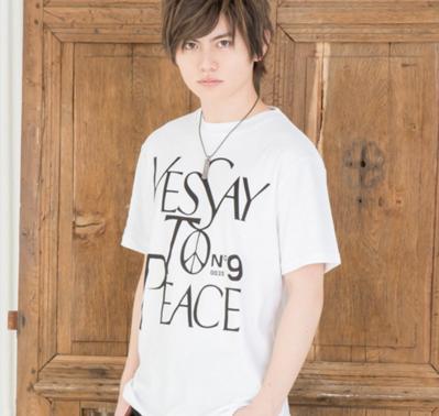 パロディープリント半袖Tシャツ(ホワイト)