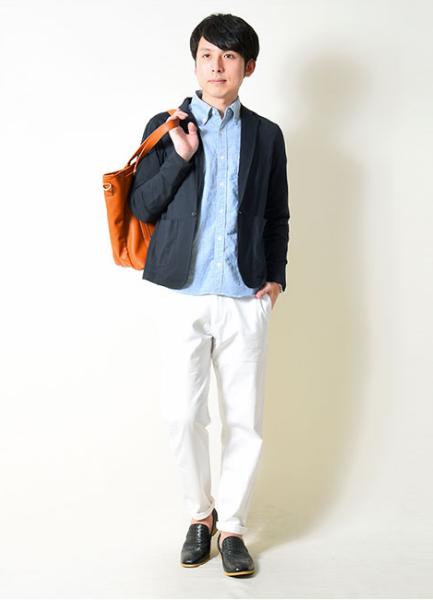 長袖テーラードジャケット